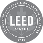 Logo: 2015 LEED Silver Certification